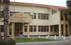 Government building - Parlamento di Aruba - small