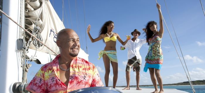 Island Sailing  tour is a party trip!