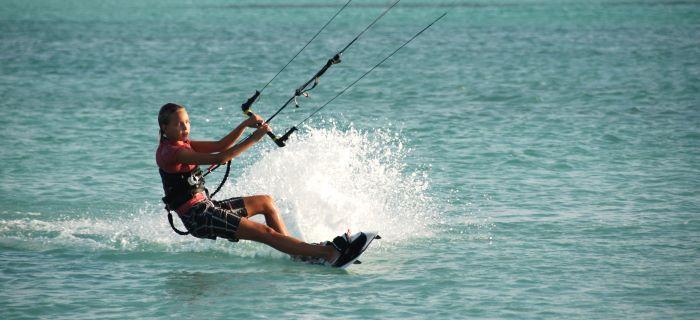 Kitesurf beach